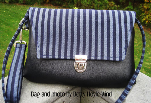 Kiley Clutch with 3 Flap Options and optional Shoulder Strap PDF ...