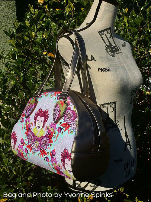 c0df39814712 Nevaeh Bowler Bag- Two sizes — RLR Creations