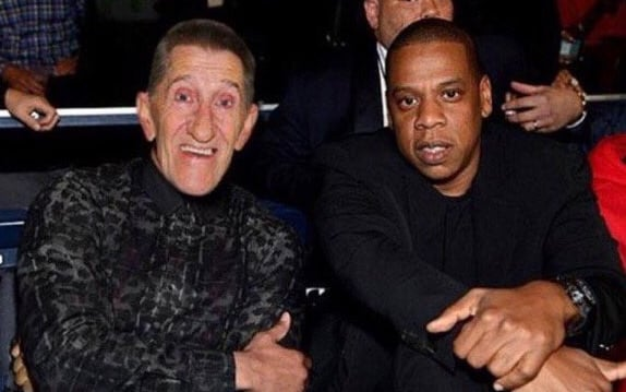 Some fake news, like this Photoshopped pic of Jay-Z with Barry Chuckle, is  funny . However,  studies have shown  that people have difficulty distinguishing fake news from the real thing. When made up headlines are taken at face value, it can result in some very  real world consequences.