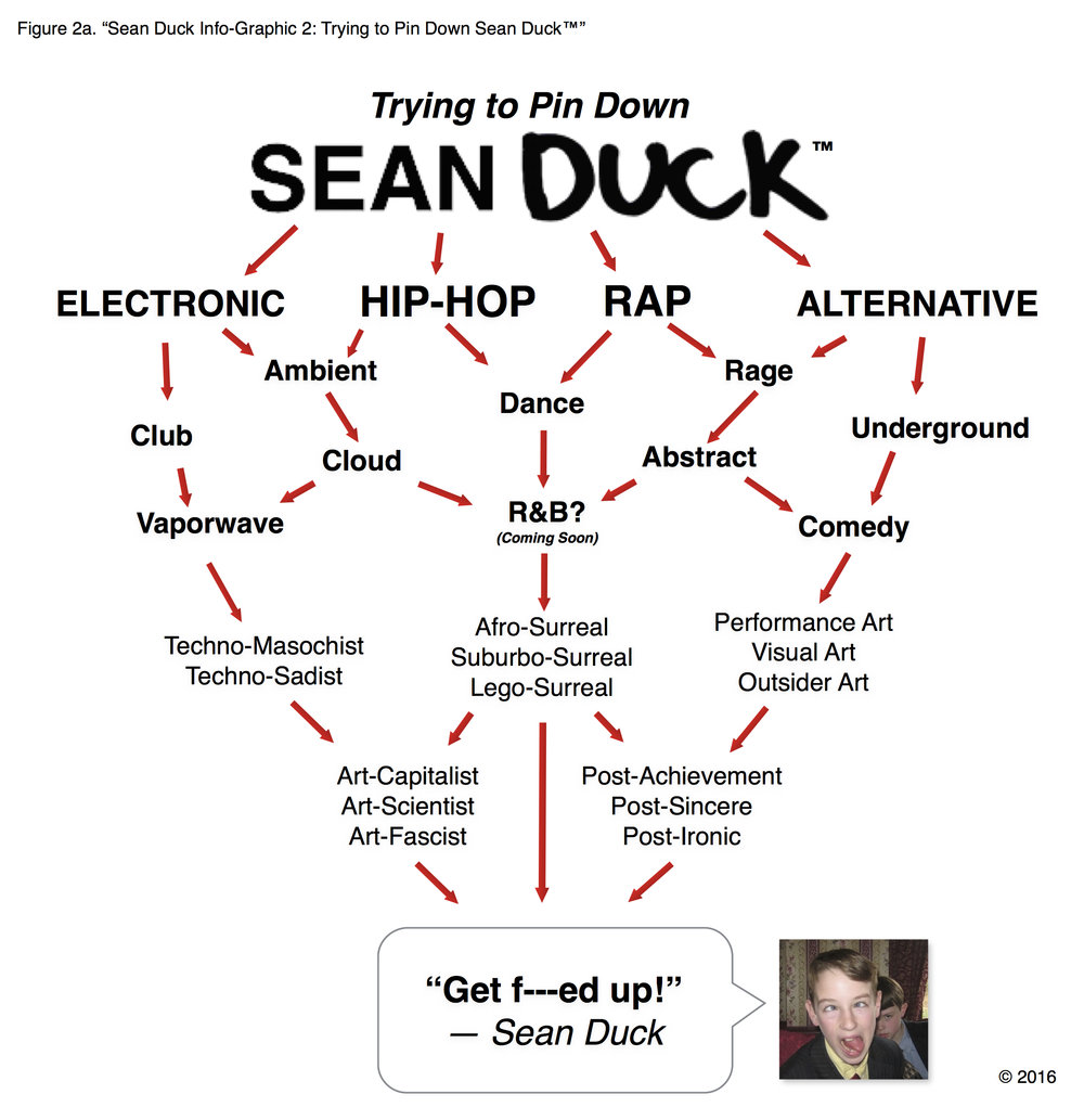 "Figure 1a. ""Sean Duck Info-Graphic 1: Trying to Pin Down Sean Duck™"""