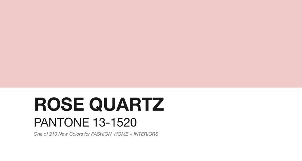 pantone - rose quartz - southern new yorker
