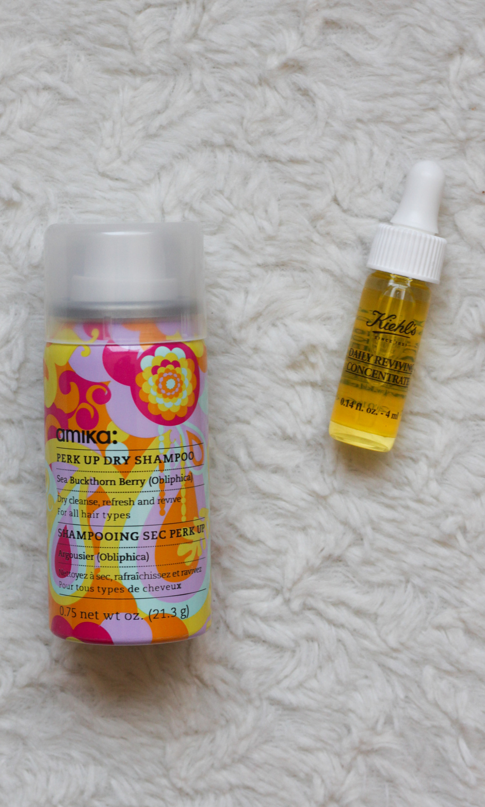 May Birchbox - Amika Perk Up Dry Shampoo, and Kiehl's Daily Reviving Concentrate - Southern New Yorker