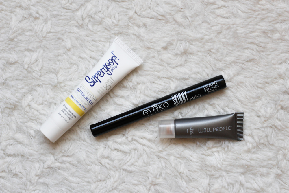 May Birchbox - Eyeko Skinny Liquid Liner, Supergoop Everyday SPF 50 Sunscreen, and Well People Concealer - Southern New Yorker