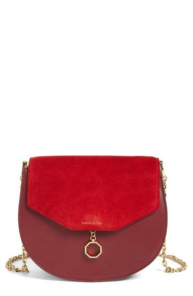 Louise et Cie suede and leather crossbody bag - Nordstrom Anniversary Sale