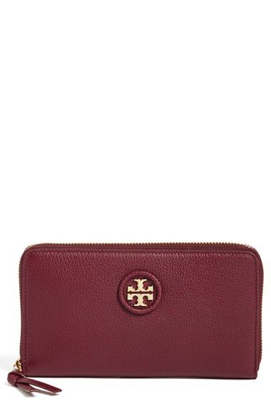 Tory Burch leather zip around wallet - Nordstrom Anniversary Sale