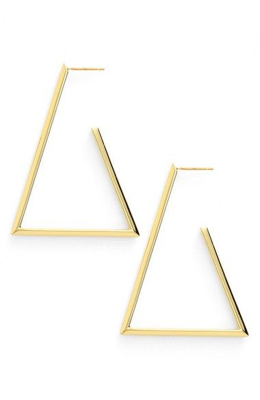 Argento vivo triangle earrings - Nordstrom Anniversary Sale