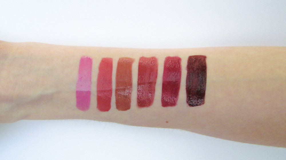 Left to Right: Crush, Devotion, Forever, Kisses, Addiction. Infatuation
