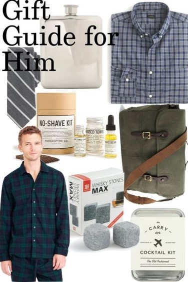 Christmas gift guide for him brother dad boyfriend guy friend