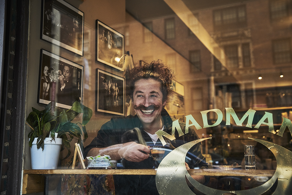 best coffee shops in manhattan - madman espresso