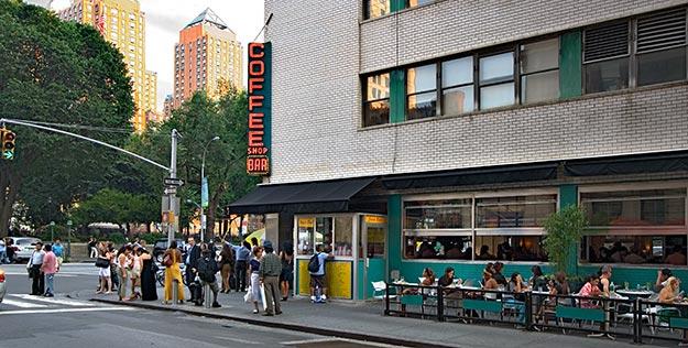 The coffee Shop Union Square