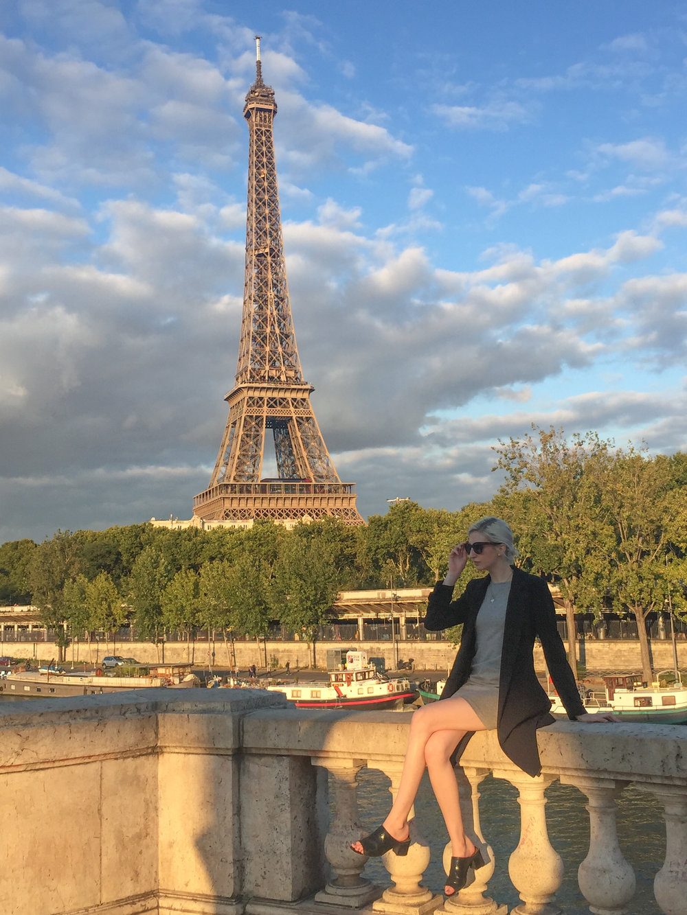 Audra Koch - Paris France, Eiffel Tower