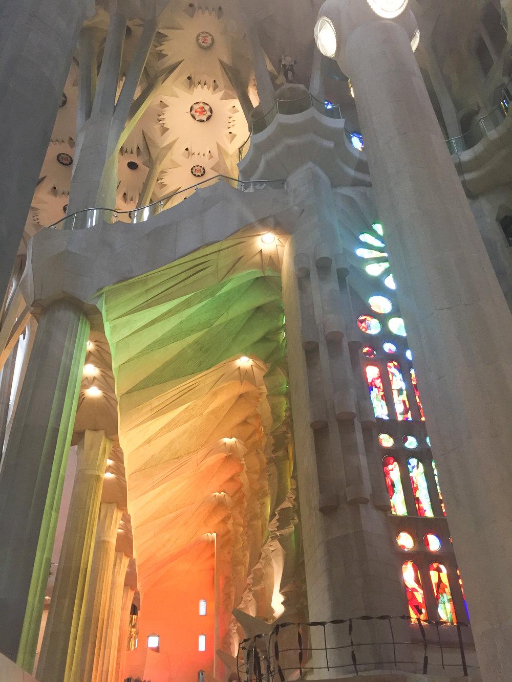 La Sagrada Famiglia Barcelona