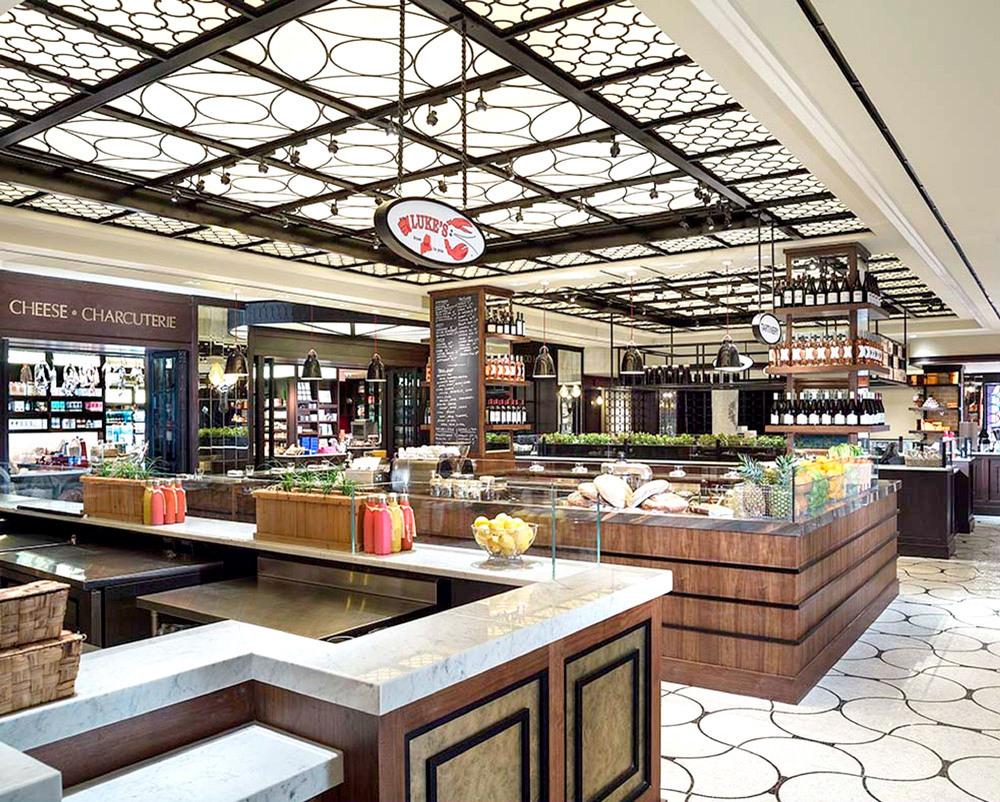 Plaza hotel food hall