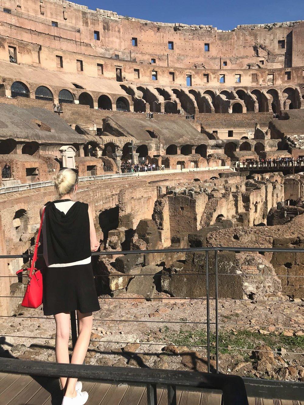 Audra Koch Rome Italy