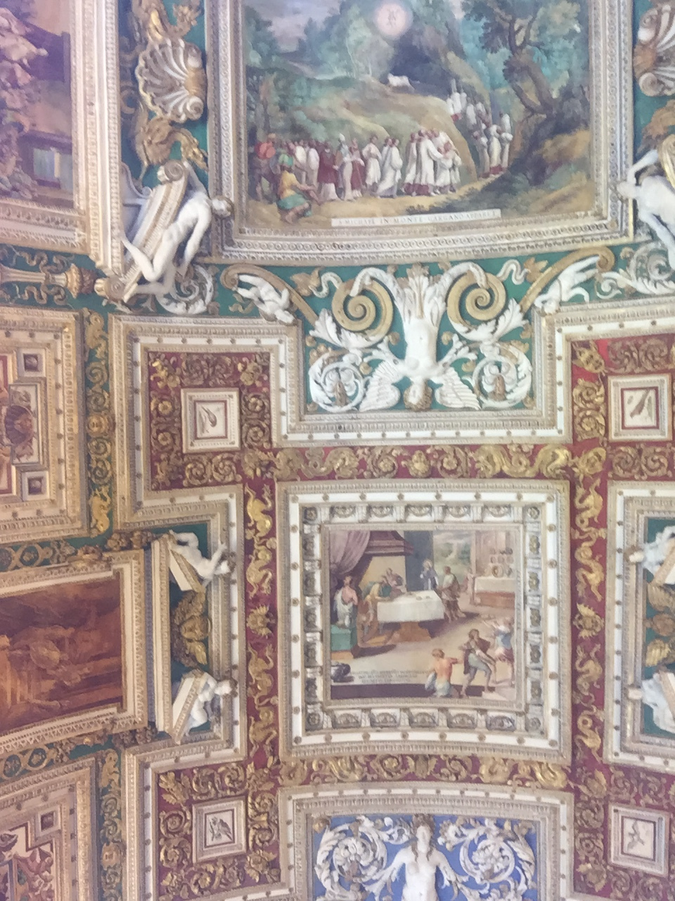 Ceiling in Vatican Gallery