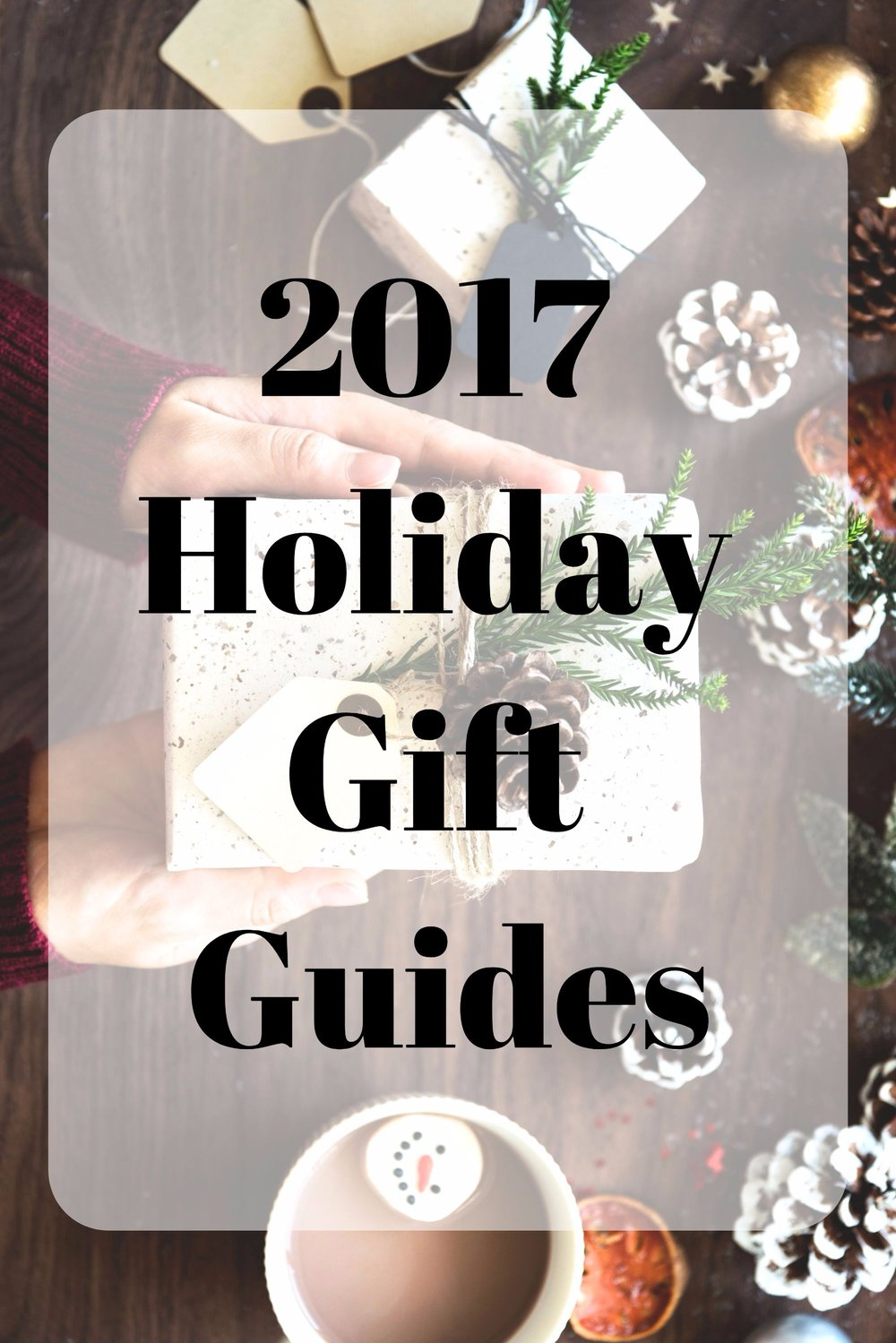 2017 holiday gift guides for her and for him. Christmas gift ideas