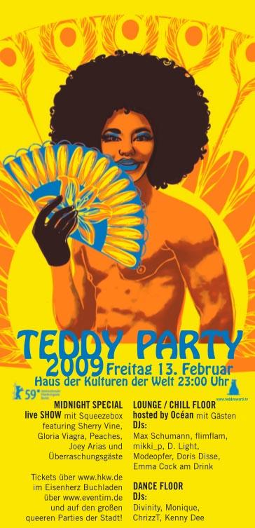 Teddy Party Flyer