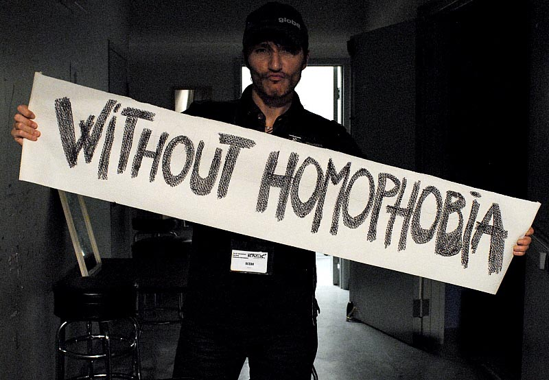 Without Homophobia by Tania A.
