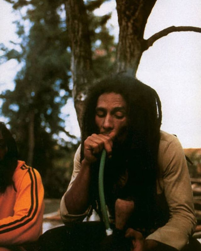 Happy Earthstrong @bobmarley 👑 you've been a great inspiration on our musical journey. #onelove