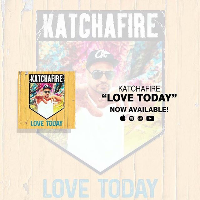 Go checkout @katchafireofficial #newsingle #LoveToday Drumnbass played by yours truly @ungabarunga @welshbass #heavyweightrockaz