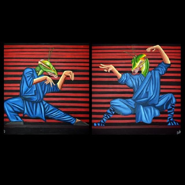 Kung fu #animalinstictkingdom