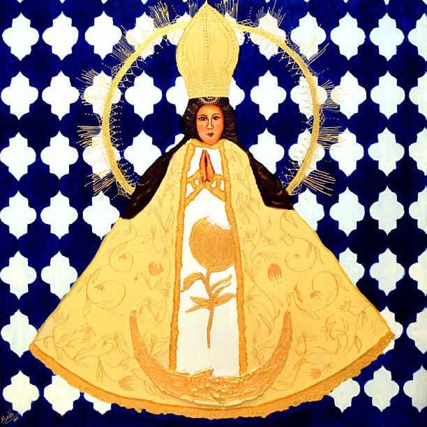 Virgen de San Juan de los Lagos #boldoart #virgendesanjuandeloslagos #virgens #mexico #catholic #oiloncanvas #oilpainting #artstagram #artist #ART #painting