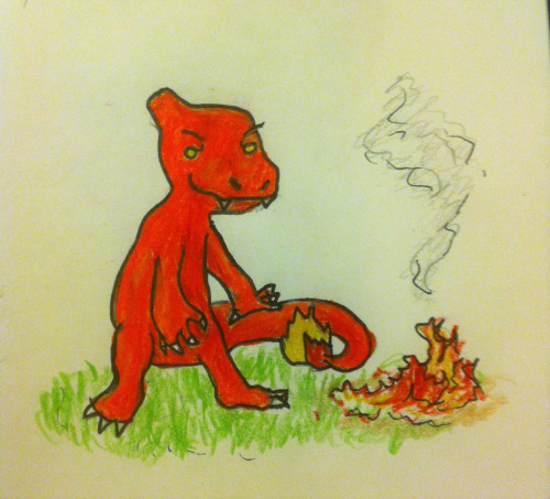 Original drawing from Kyle's blog,  Stay Out of the Tall Grass