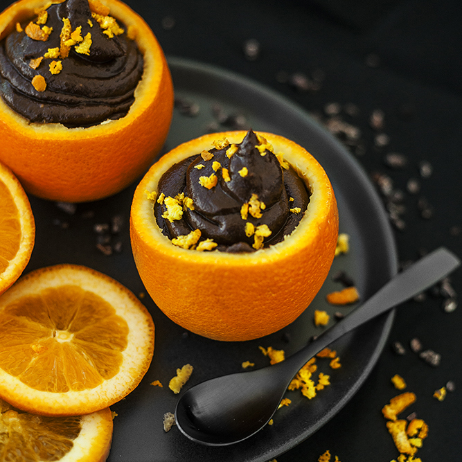 Choc Orange Mousse