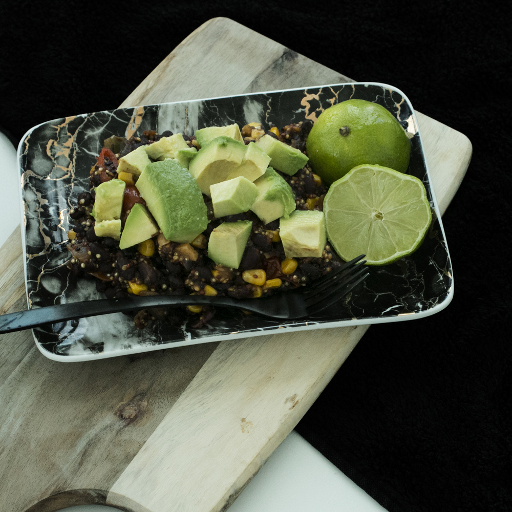 Spiced Quinoa & Lime