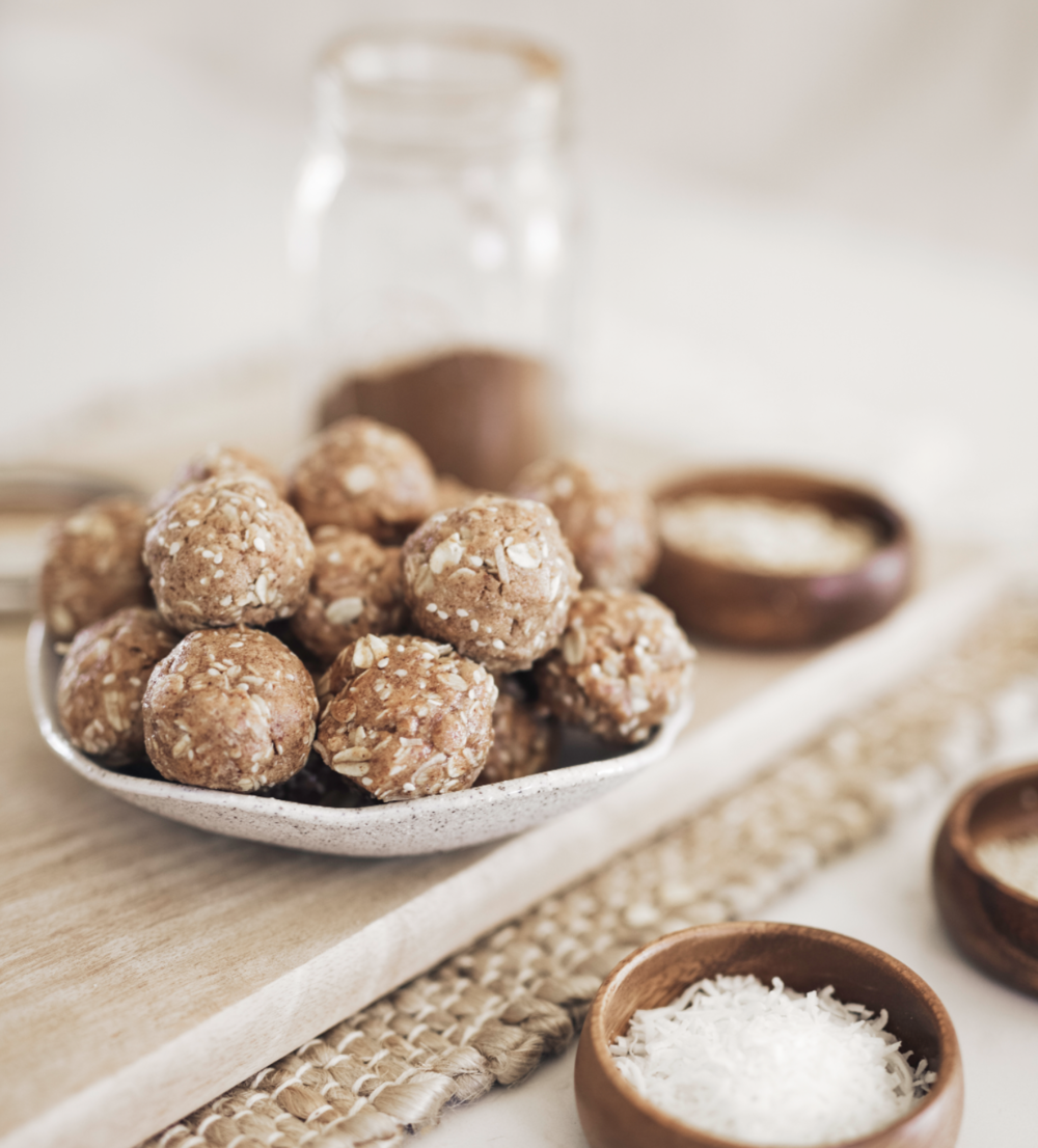 Cinnamon Protein Bites