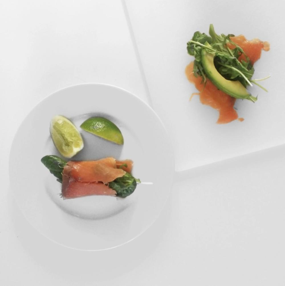 Snack 2: Salmon Avo Wraps