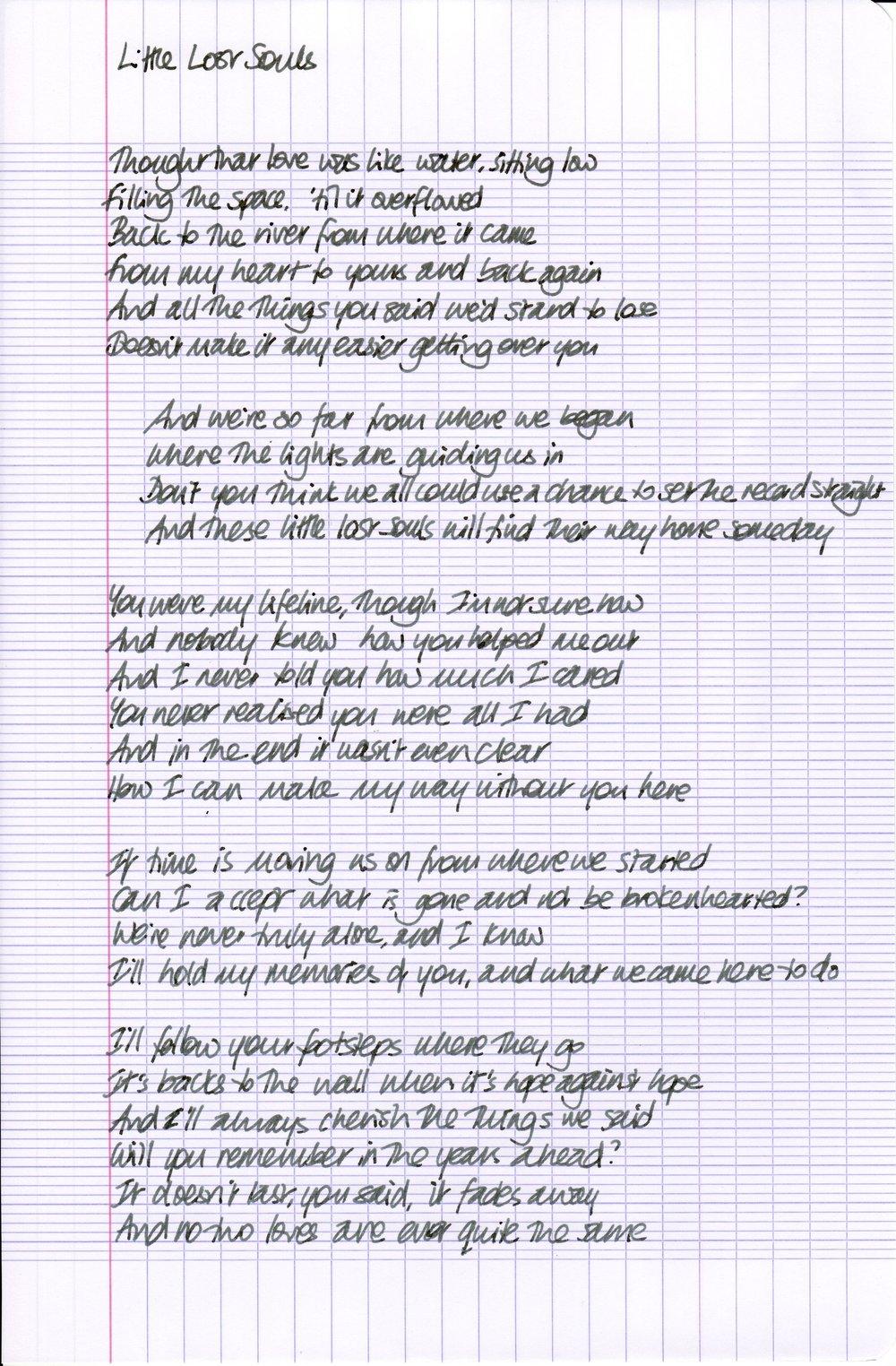 Little Lost Souls Lyrics.jpeg