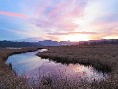 Sunrise on Wander Nature