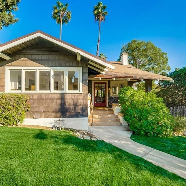 This Highland Park Craftsman home listed by Laura Marchetti @littlehousebigprairie of @takesunset included a bright kitchen, sunny office area and beautiful backyard. And, it was exactly what our clients were looking for, so we were happy to provide the home loan they needed to close on their new property. #homeloans #highlandpark #lahomes #mortgage #lender #mortgagebroker #losangeles