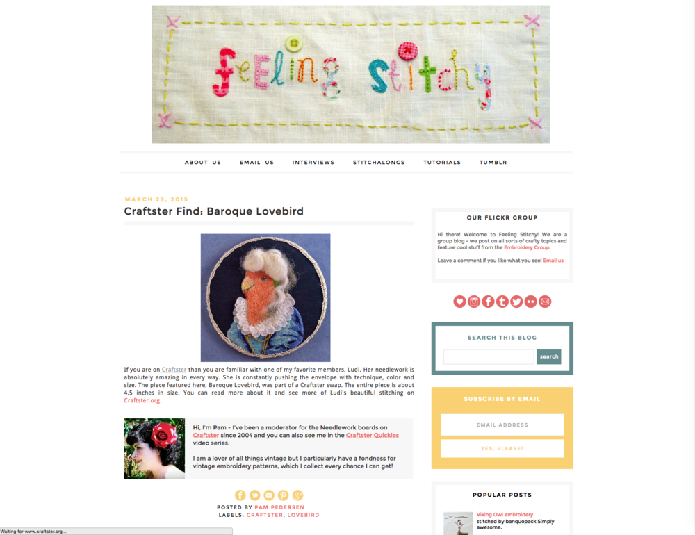 FollowFriday-FeelingStitchy