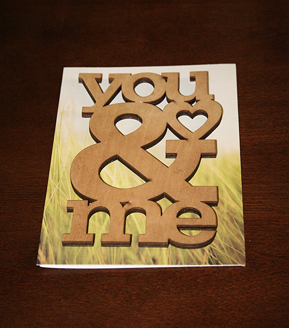 71. MR. LL'S CARD TO ME FOR OUR WEDDING ANNIVERSARY. I LOVE IT.