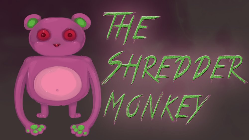 Shredder Monkey by MantaTheMisukitty.