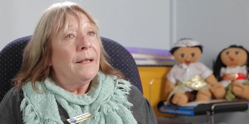 Jenny Gordon, Principal Pt Wakefield Primary School