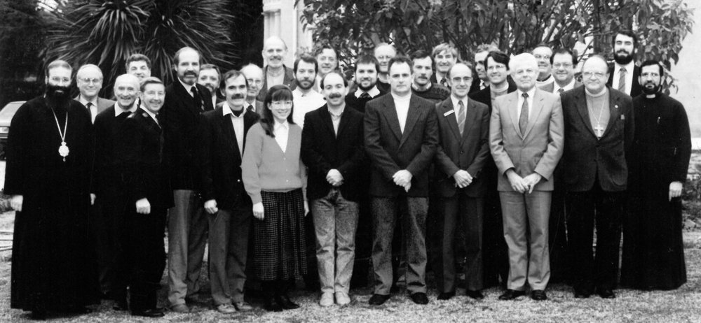 Heads of Churches, SMG Board and Staff at Archbishop Faulkner's home