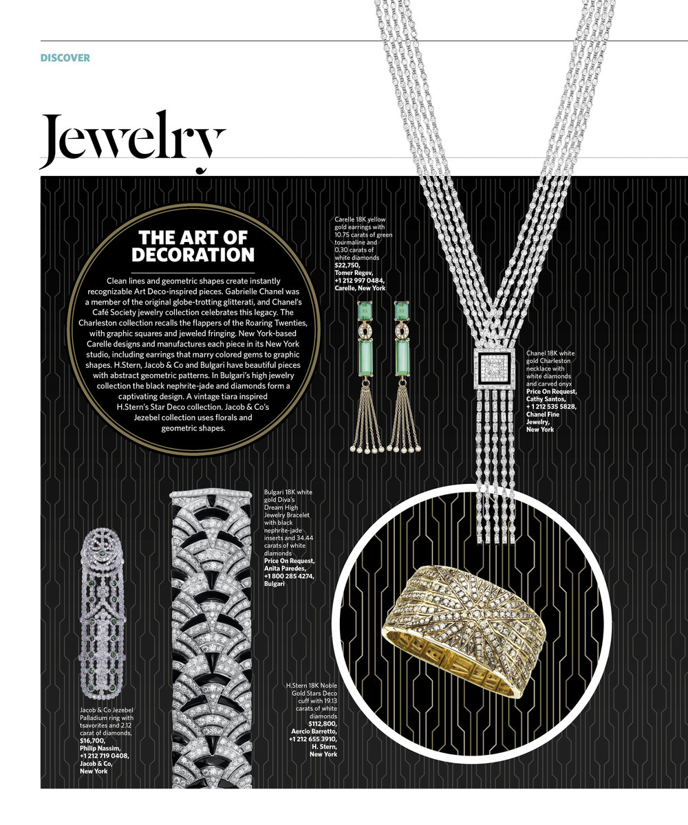 July/August 2016 | Art Deco Trend