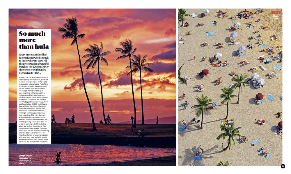 January/February 2016 | Hawaii Itinerary