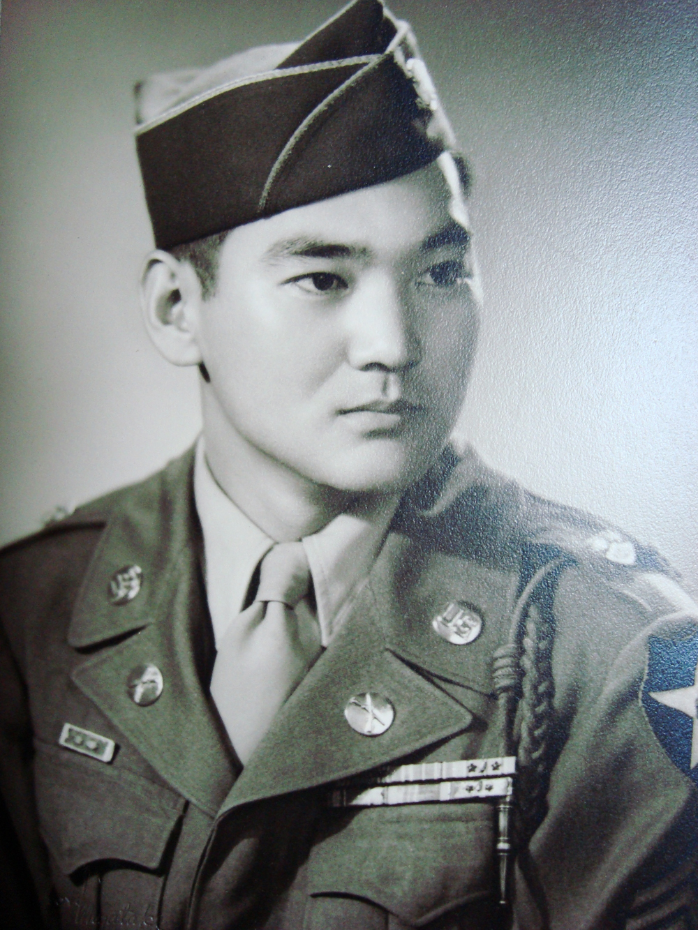 Grandpa in uniform. I am often told that I look like this slick guy...by myself.