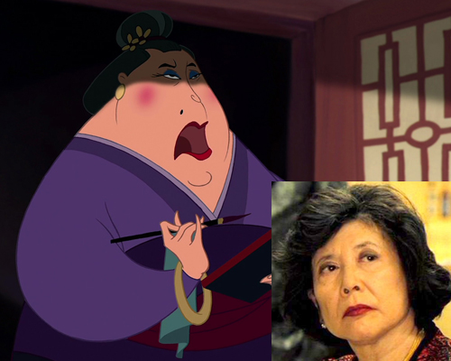 an analysis of the characters in the matchmaker Characters in the film chi fu is the emperor's counsellor cri-kee is a cricket, who brings good luck  the matchmaker is angry with mulan 4.
