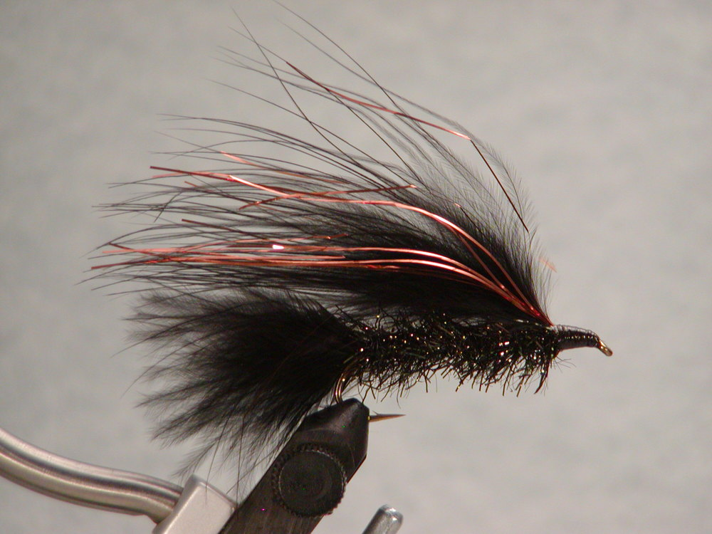 Black #4, Jay Fair Trolling Fly.  $5.49, sold in pairs.