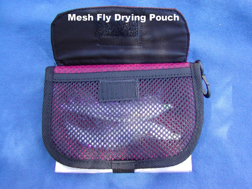 Wallet, Mesh Drying Pouch