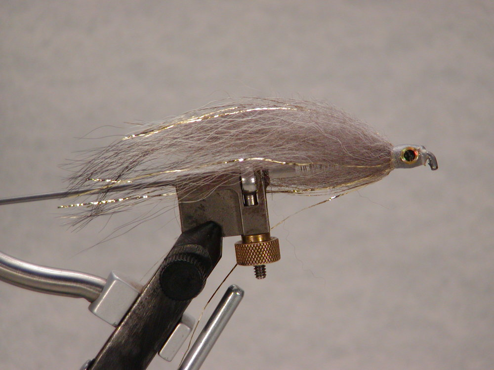 Gray-Gold Flash Tube Fly