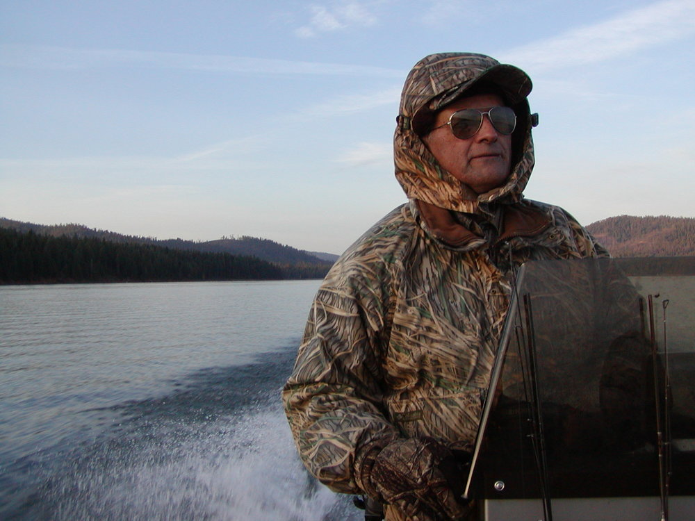 Guide Mark Jiminez on Lake Almanor