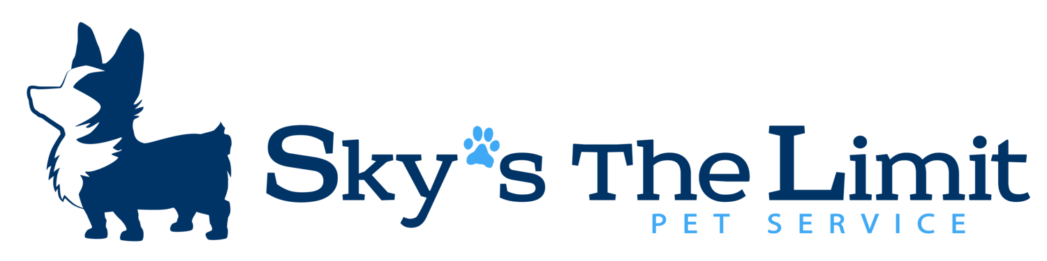 Sky's the Limit Pet Service LLC - dog walking, dog walker, in home pet visits, pet sitting, animal care