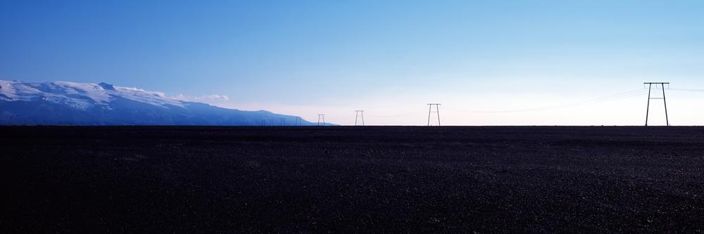 Barren field : Iceland