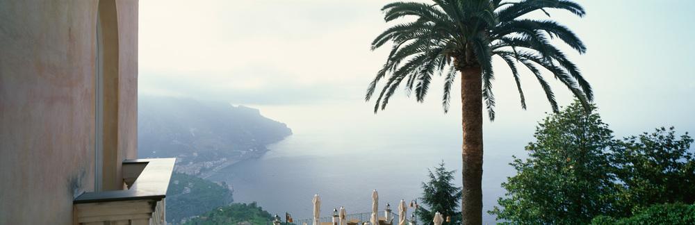 Amalfi Coast from Palazzo Sasso : Italy